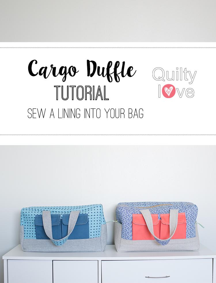 duffel bag sewing pattern