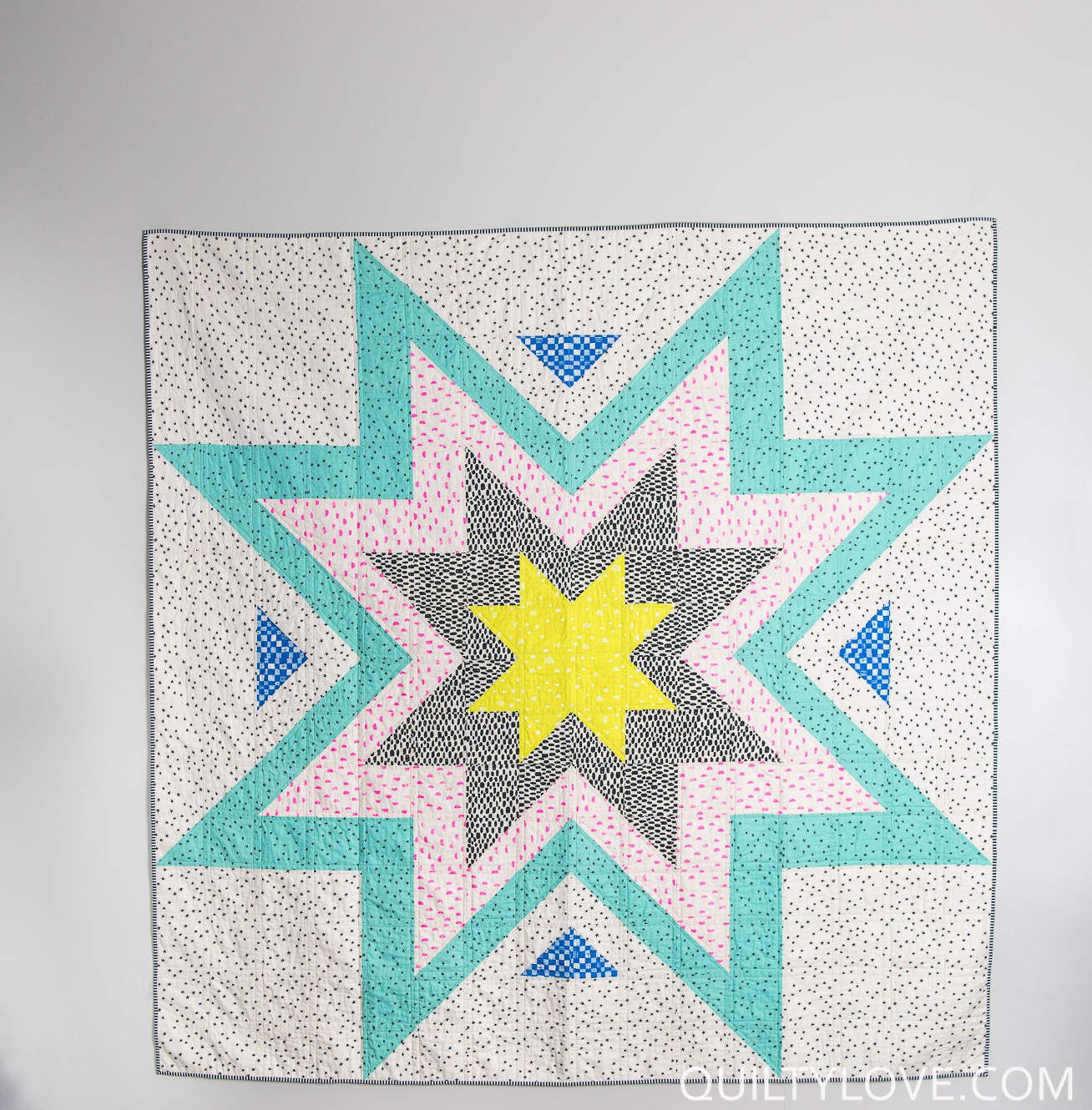 Expanding Stars Quilt Pattern Quilty Love