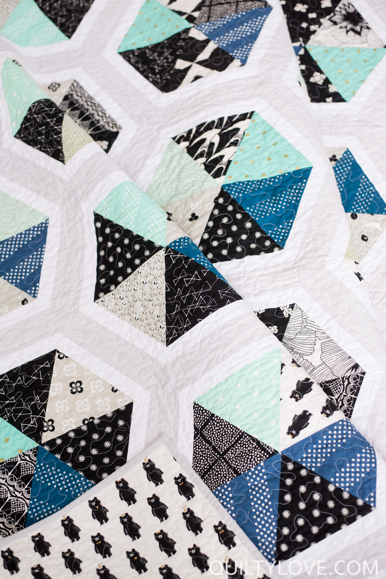 triangle quilt Archives - Quilty Love