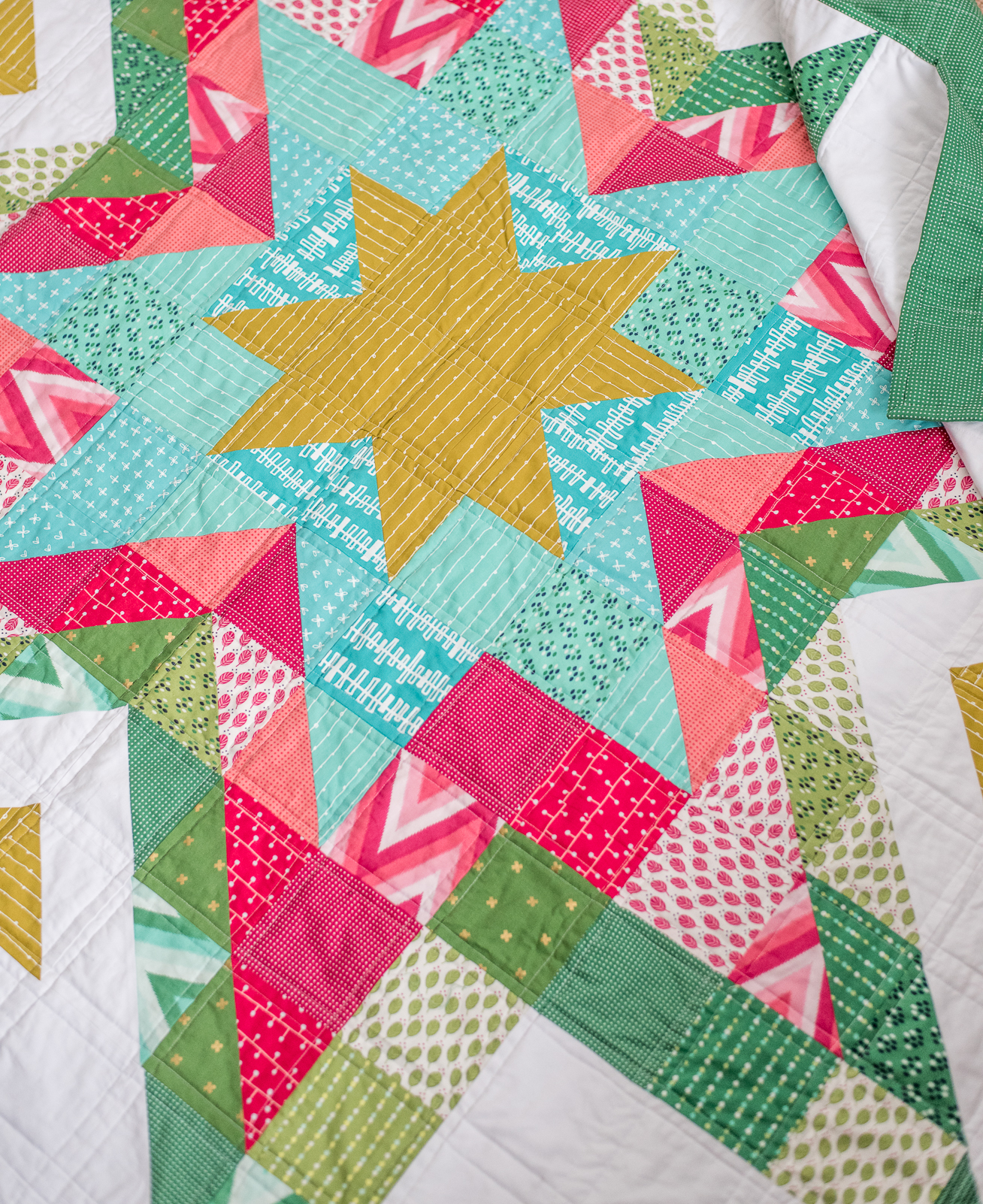 expanding stars quilt