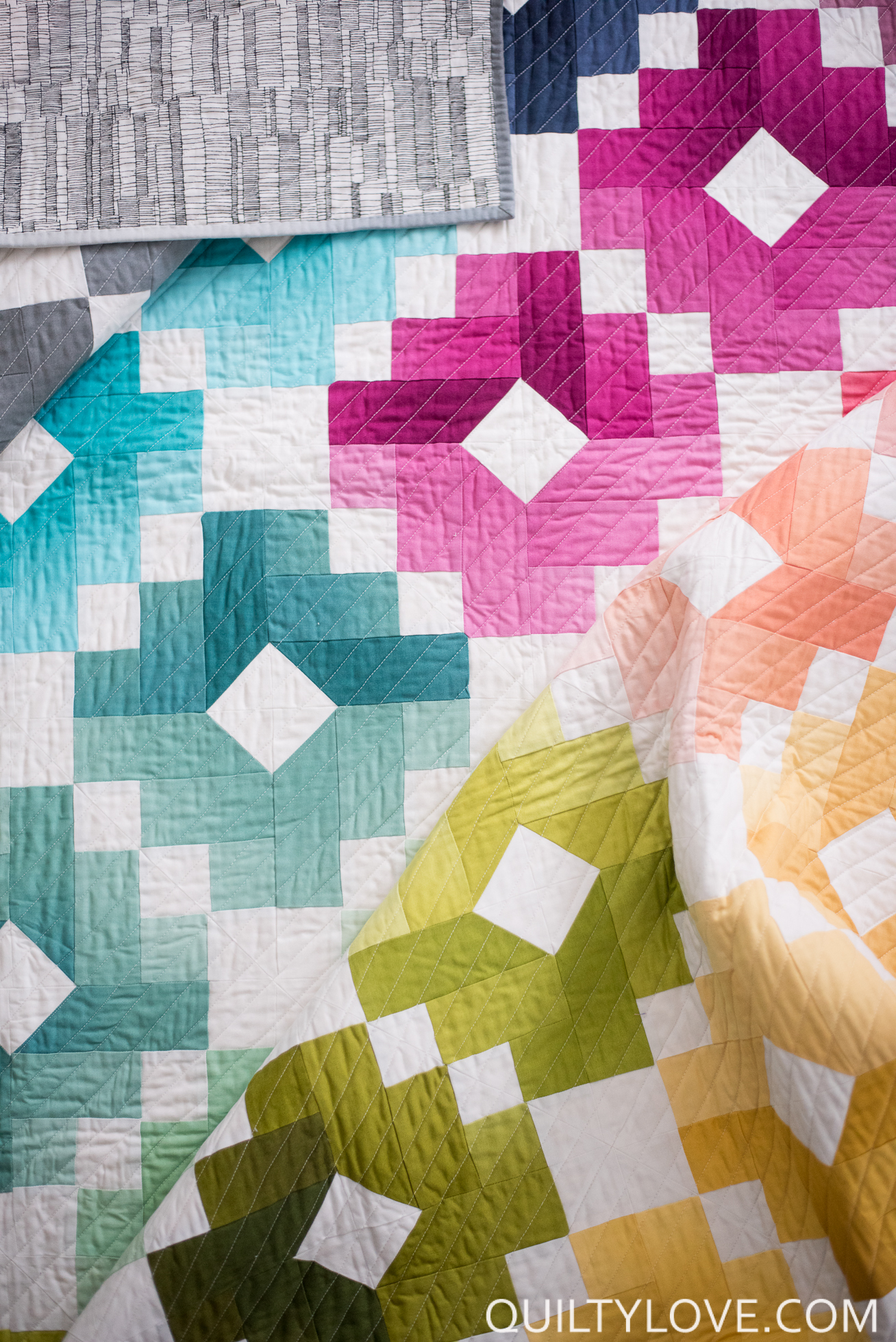 Ombre Gems Quilt Pattern Quilty Love
