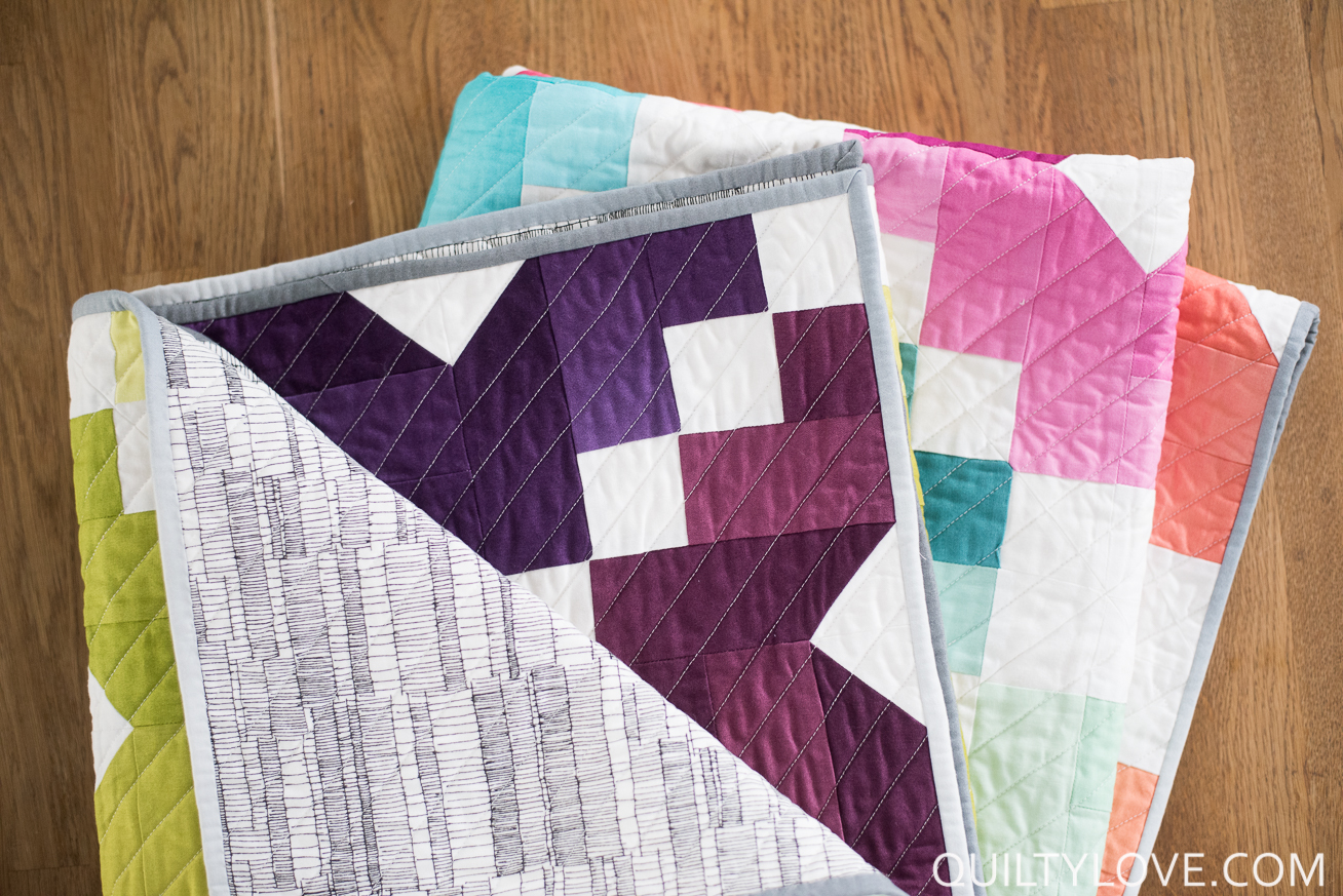 Ombre Gems Quilt Pattern