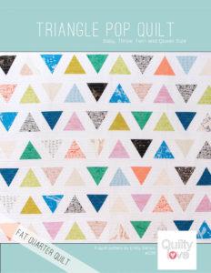 Triangle Pop Quilt Pattern