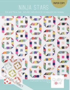 Ninja stars quilt pattern