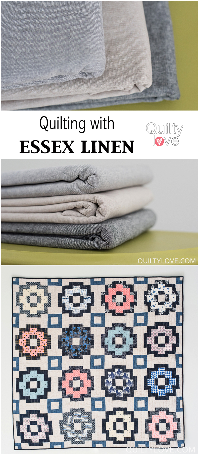 quilting essex linen fabric
