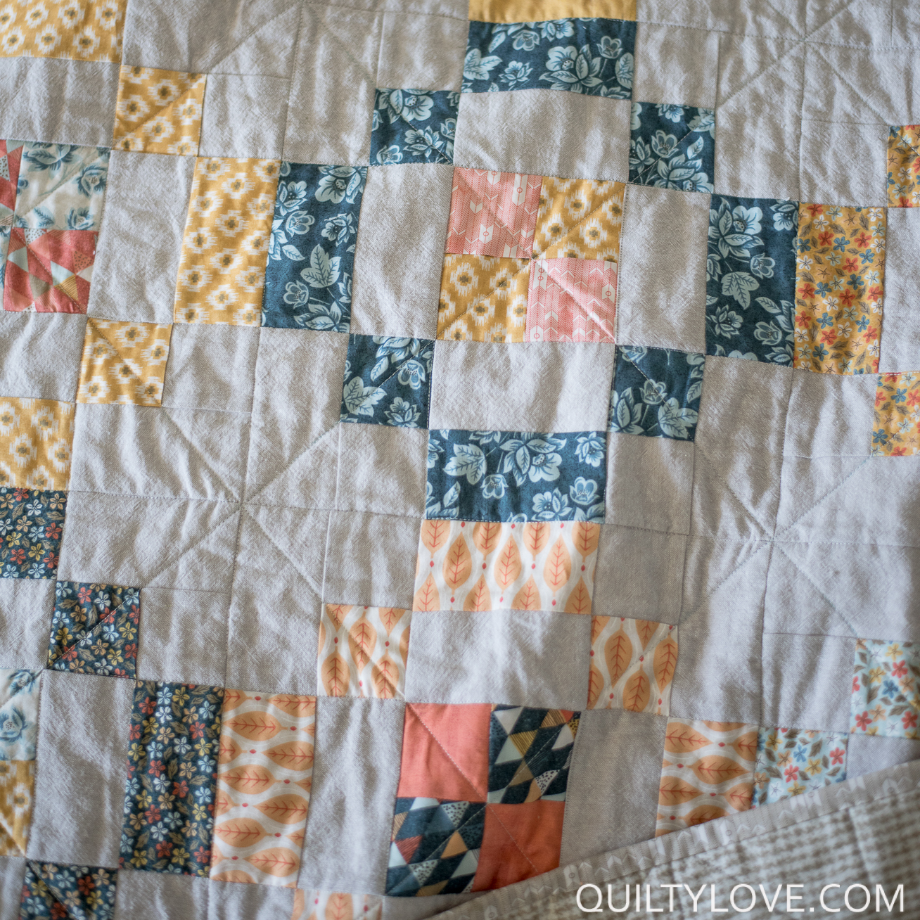 essex linen jelly rings quilt
