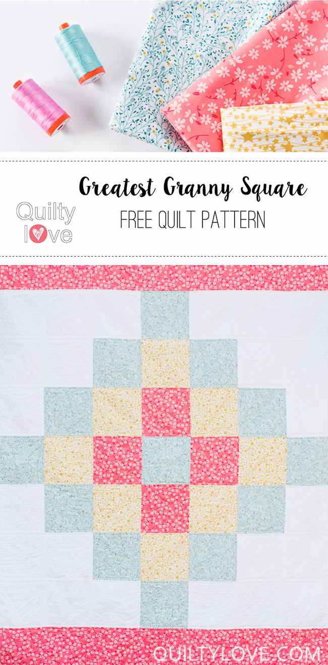 free granny square quilt pattern