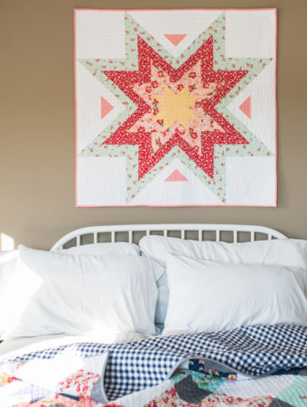 baby Expanding Stars quilt