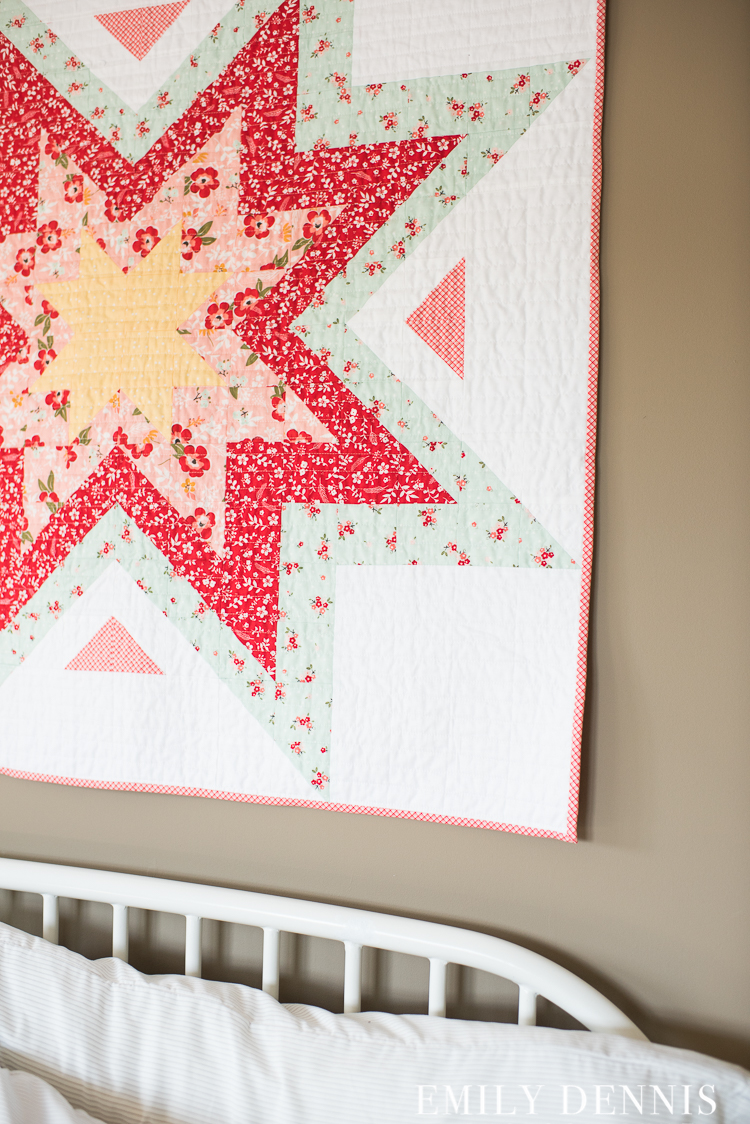 Baby Expanding Stars Quilt Sweet Prairie Quilty Love