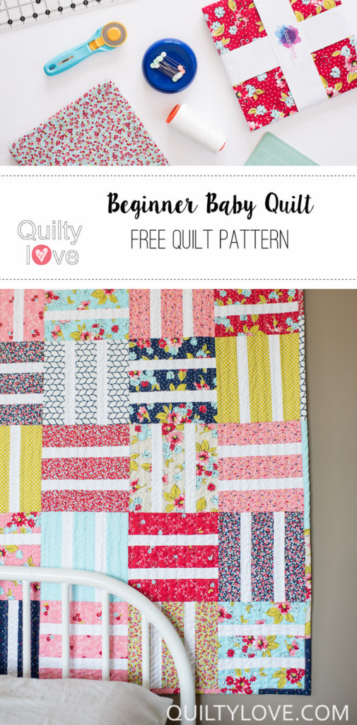 free baby quilt tutorial
