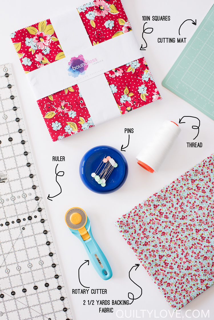 Free Easy Baby Quilt Tutorial Quilty Love