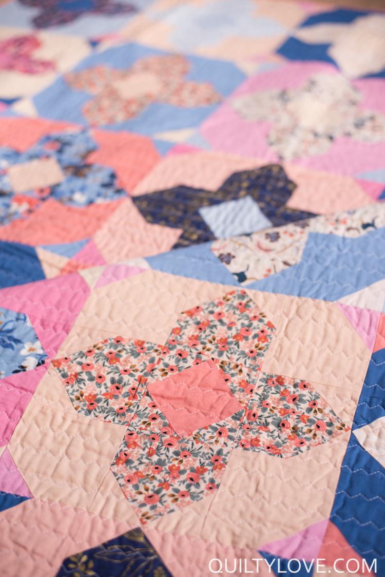 geo gems quilt pattern