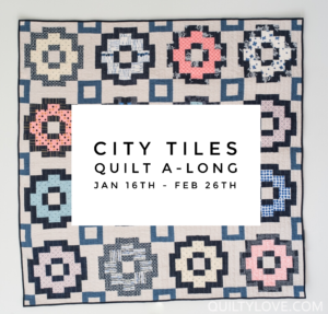 City Tiles Quilt Along