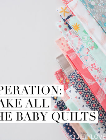 baby quilt auction