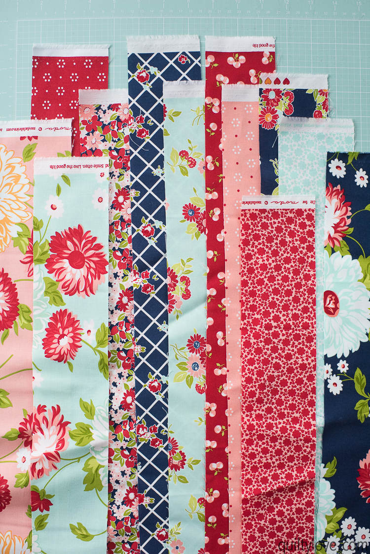How To Make A Doll Quilt Free Tutorial Quilty Love