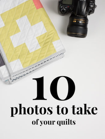photos to take of your quilts