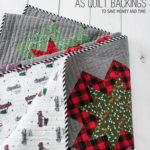 sheets as quilt backings by emily of quiltylove.com