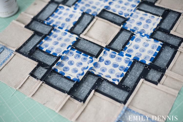 City tiles quilt along week 3