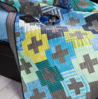 Blueberry Park Plus and Minus quilt