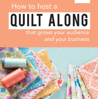 How to host a quilt along