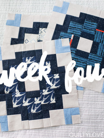 City Tiles quilt along week four