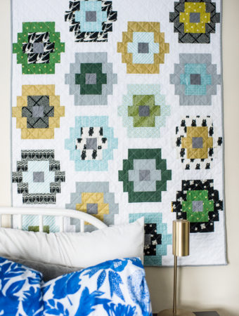 Quilty Beads quilt pattern by Emily of quiltylove.com