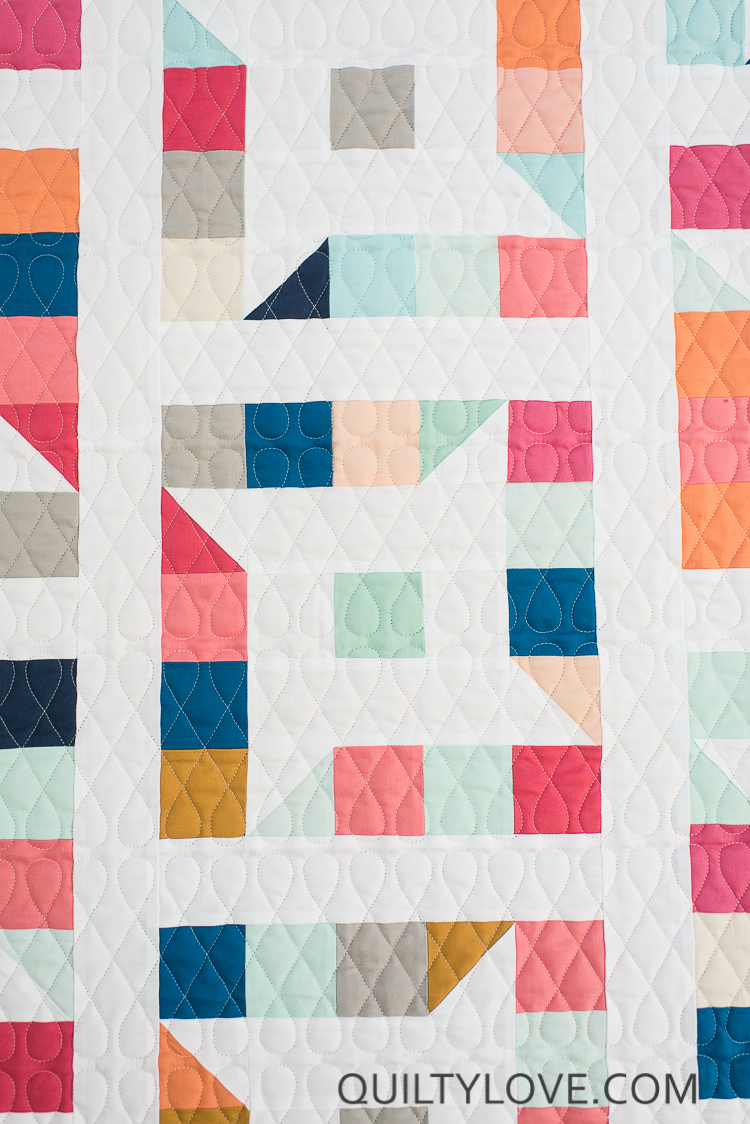 Friendly Stars Quilt The Kona Solids One Quilty Love
