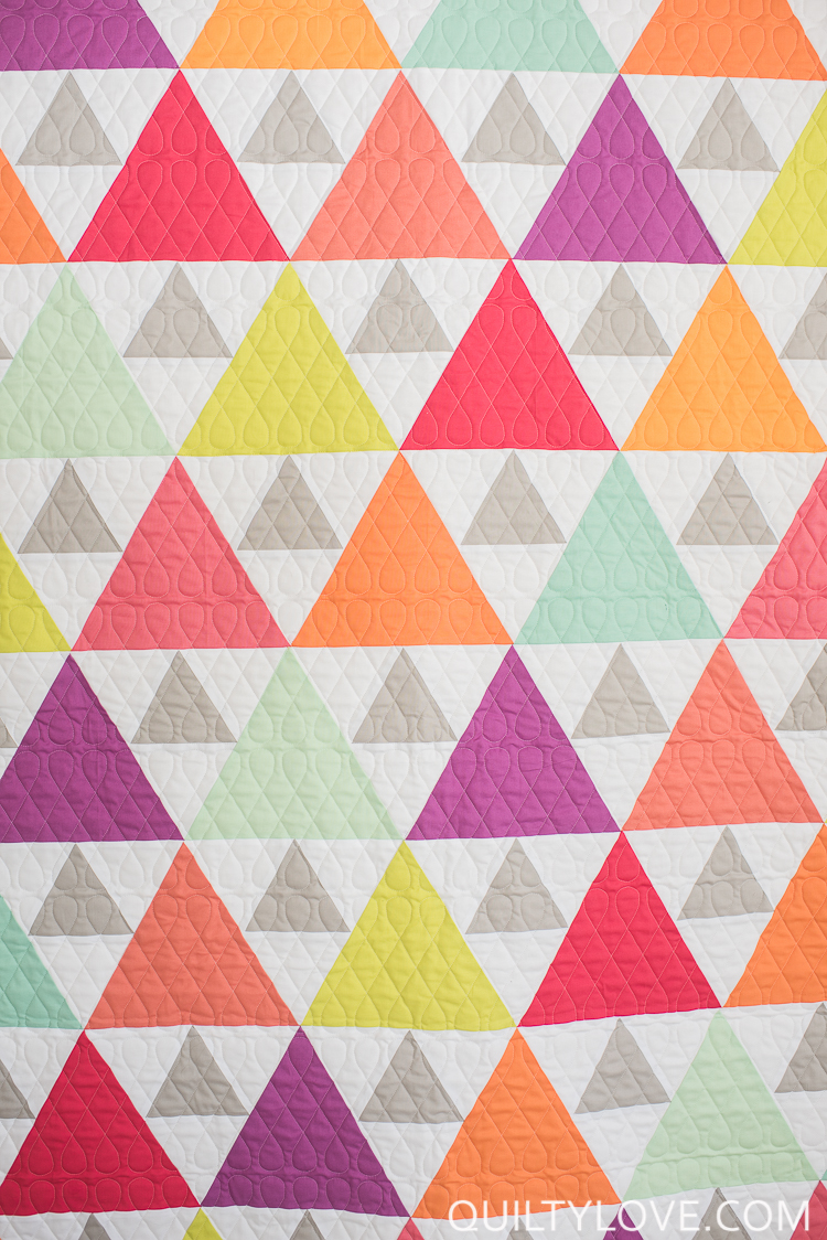 Triangle Quilt Patterns New Inspiration Ideas