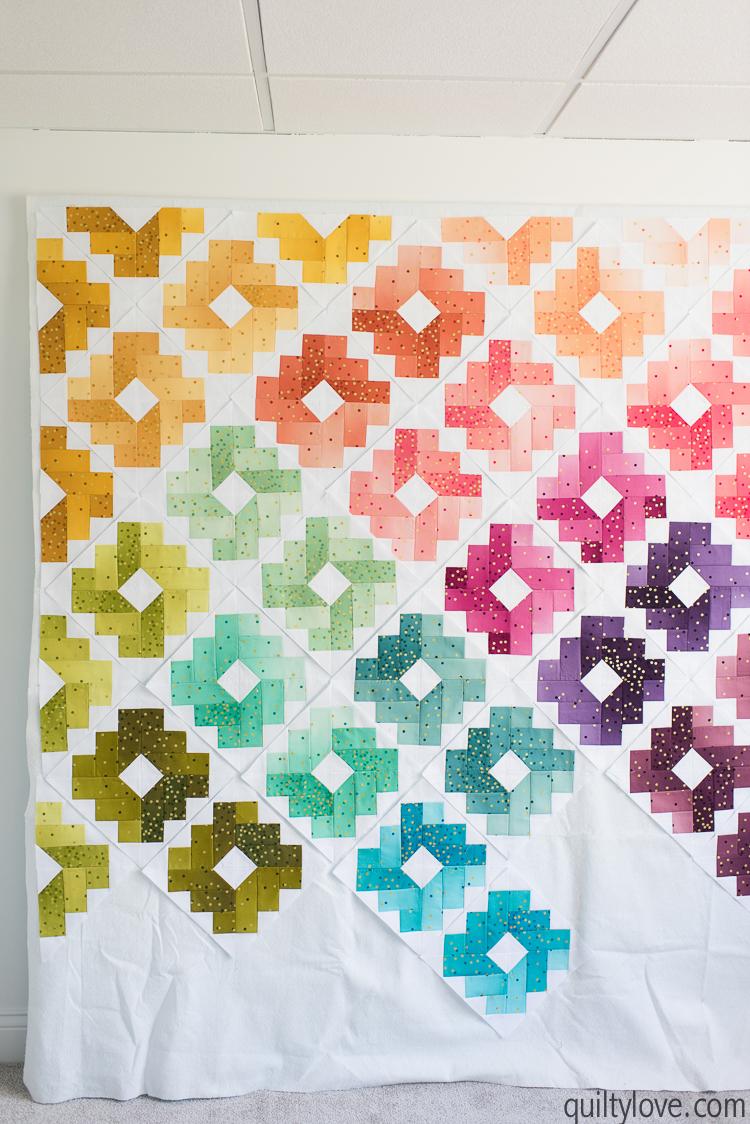 Ombre Gems quilt along week 10