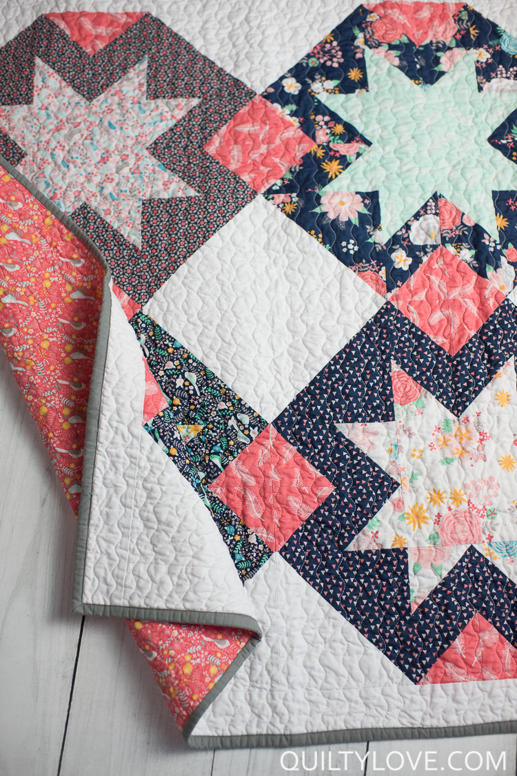 baby north star quilt pattern