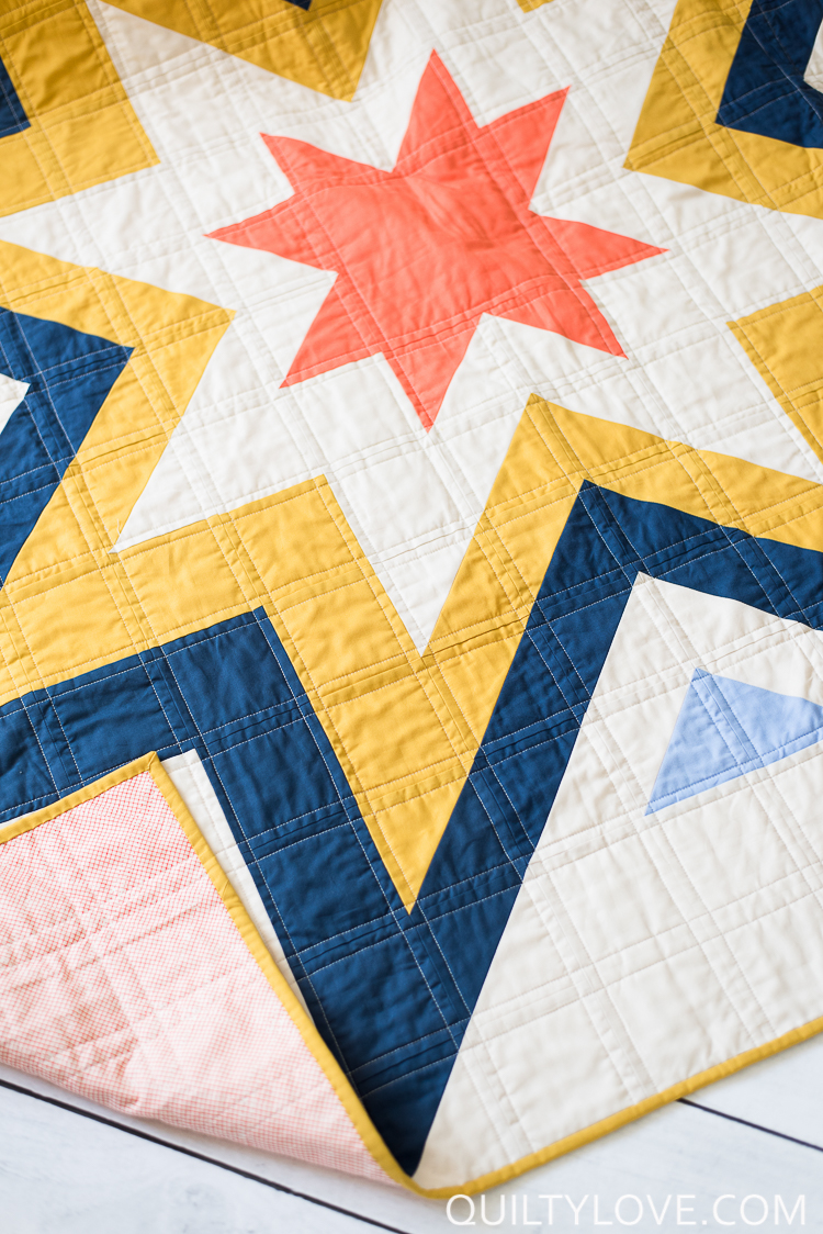Expanding Stars Quilt Pattern The Kona Solids One