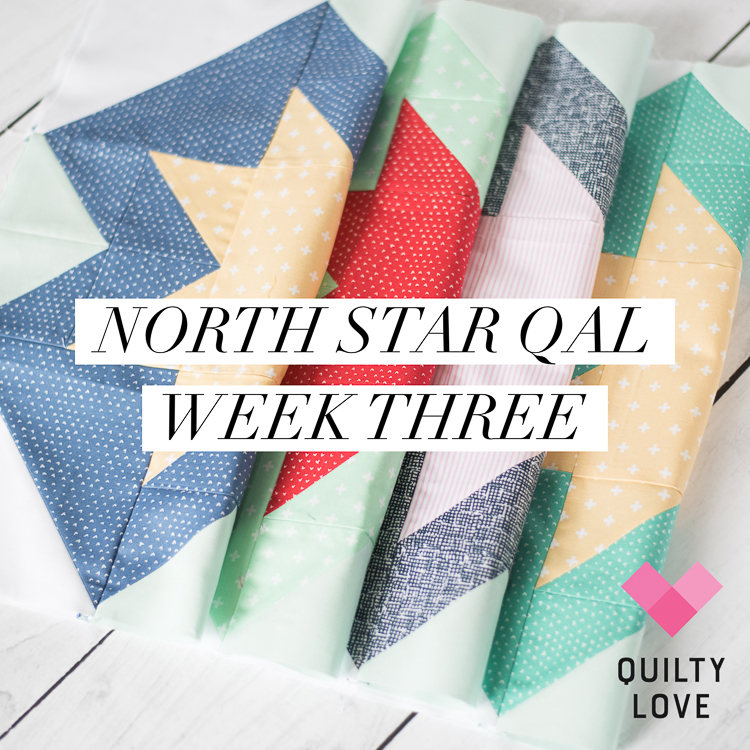 North Star Quilt along