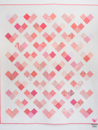 Quilty Hearts Quilt Pattern