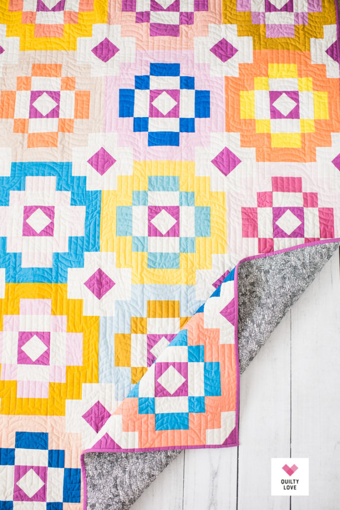 Southwest Sunshine - A new modern quilt pattern