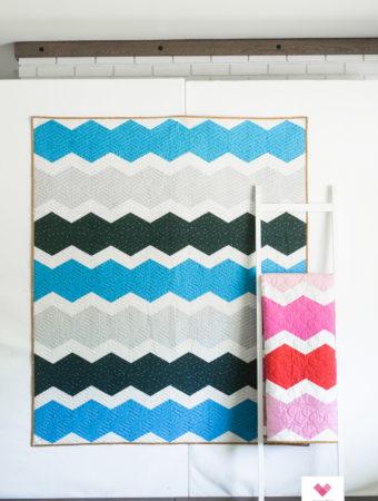 Hexie Pop quilt pattern