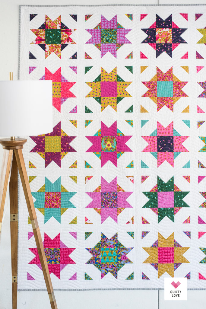 Compass Star Quilt Pattern-The Alison Glass one - Quilty Love