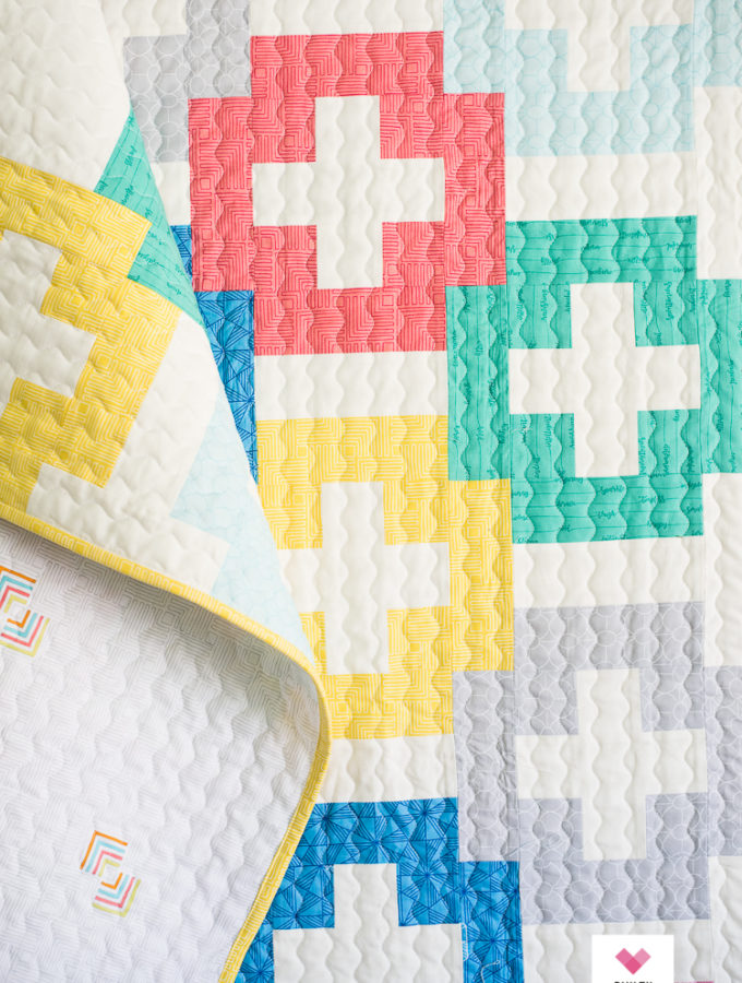 Baby Plus and Minus quilt