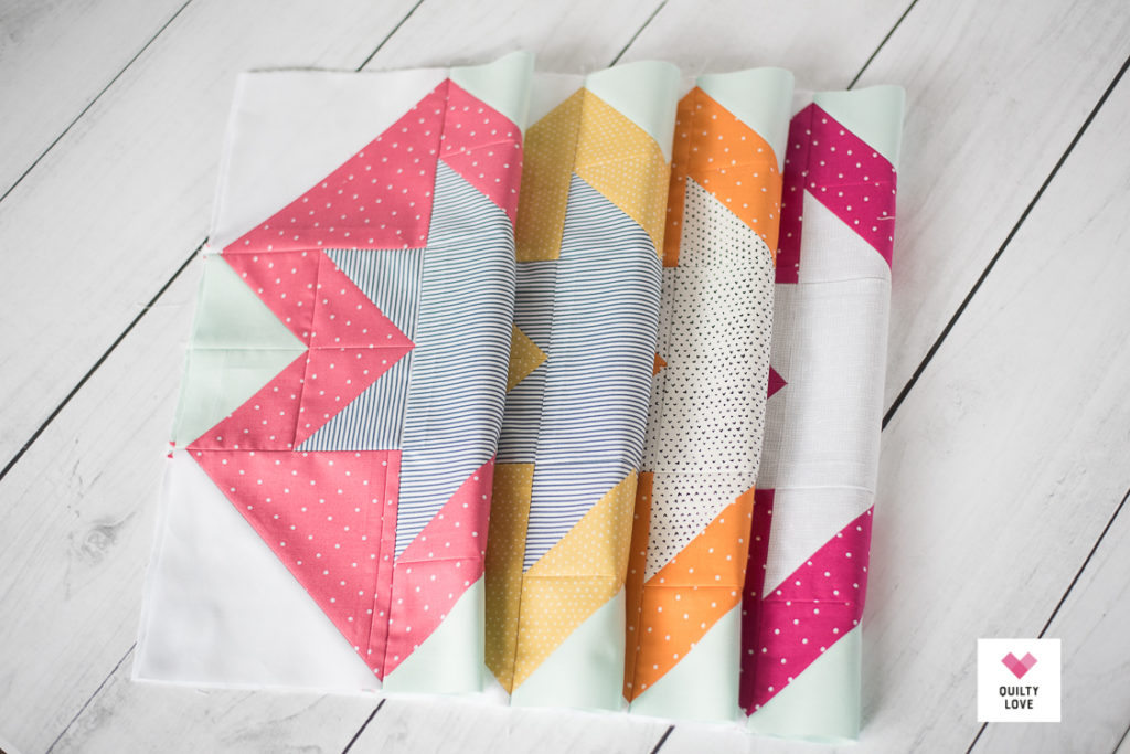North Star quilt blocks