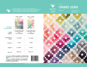 Ombre Gems PDF quilt pattern