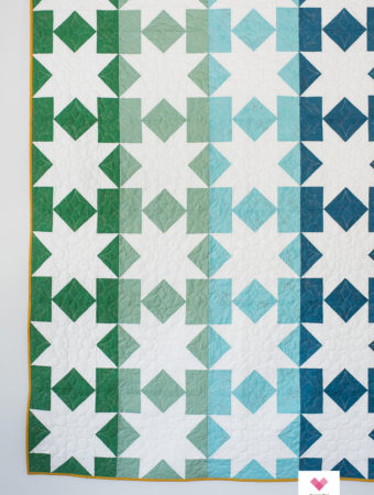 Star Fall quilt pattern by emily of quiltylove.com