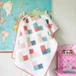 Quilty hearts baby quilt pattern