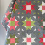 Christmas Compass Star quilt by Quilty Love