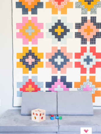 Glowing quilt by Quilty Love