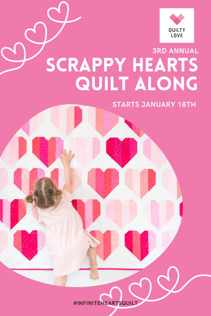 scrappy hearts quilt along