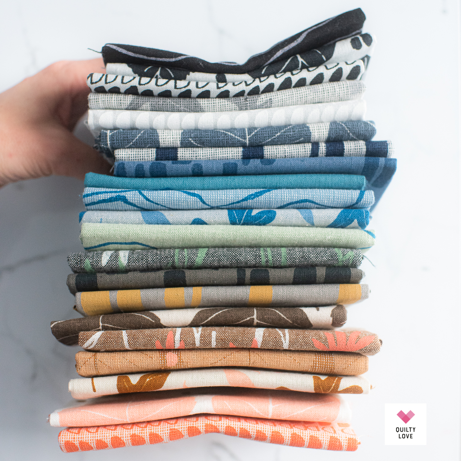 Quarry Trail fabrics